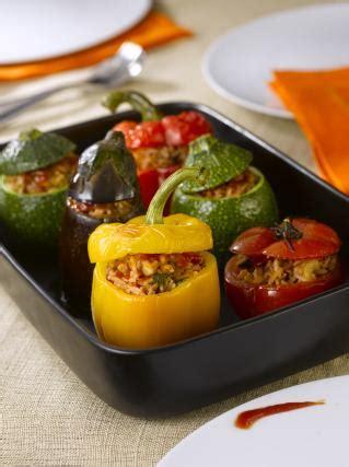 recette legumes farcis  la viande en video