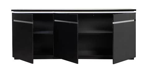 High Gloss Sideboard Black by Logan Modern Black Sideboard High Gloss Lights