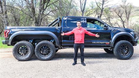 Raptor Truck Cost by The Hennessey Velociraptor 6x6 Aka 6x6 Ford Raptor