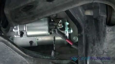 Starter Replacement Ford Mustang Youtube