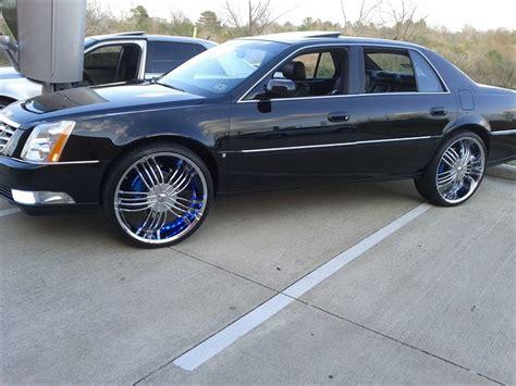 cadillac dts rims cadillac dts custom wheels ryangthaboss s cadillacdts