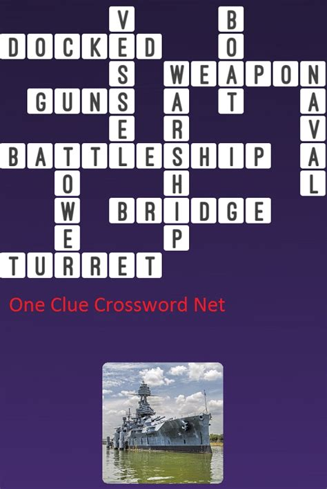 Boats Word Whizzle by Battleship One Clue Crossword Cheats