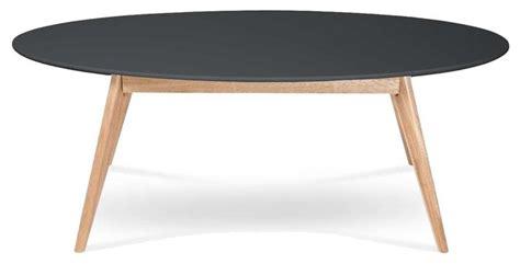 table cuisine ovale table basse design scandinave ovale skoll couleur noir