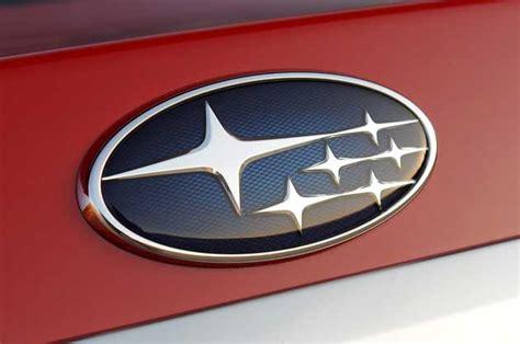 subaru emblem subaru promises four new models by 2016