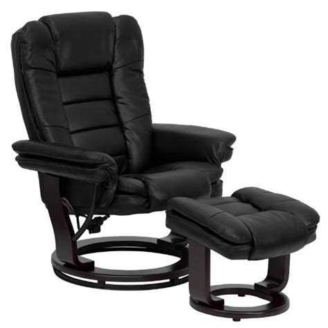 office chair with ottoman best leather recliner chair and ottoman heavy duty