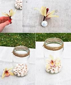 idee decoration mariage photophores orchidee 1 la mariee With déco chambre bébé pas cher avec envoyer des fleurs aujourd hui