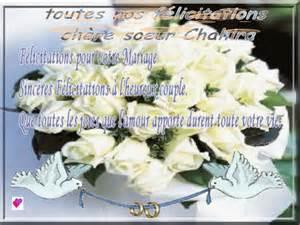 felicitation pour mariage heureux mariage le de assiacuisine