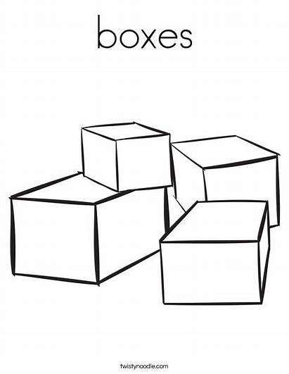 Coloring Worksheet Blocks Boxes Many There Stacked