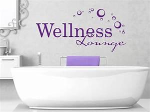 Wandtattoo Bad Günstig : wellness wandtattoo wellness lounge von ~ Markanthonyermac.com Haus und Dekorationen