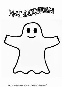 Dessin Facile Halloween : coloriage fantome de halloween facile dessin gratuit ~ Melissatoandfro.com Idées de Décoration
