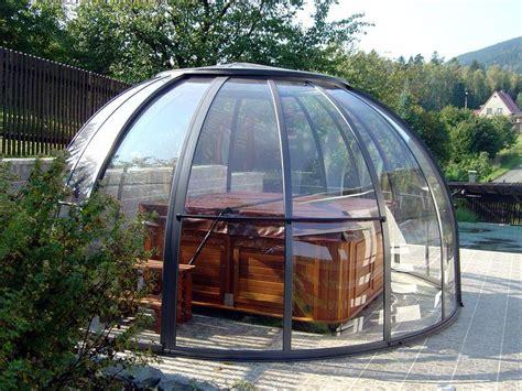 spa dome whirlpool ueberdachung wellnessdrops