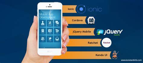 mobile app javascript top 5 frameworks to build a mobile application using html