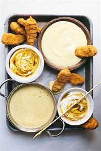 Healthy Honey Mustard Two Ways   Saucy Sunday   Brewing ...