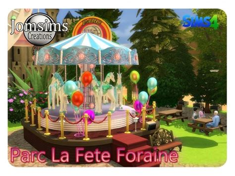 la fete foraine decorative park  jomsims creations