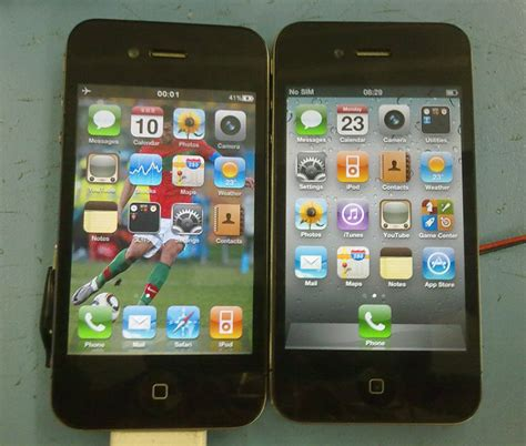 iphone clone here s the best looking iphone 4 clone yet techcrunch