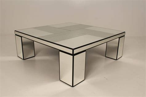 Mirror Coffee Table, 1970s For Sale At 1stdibs