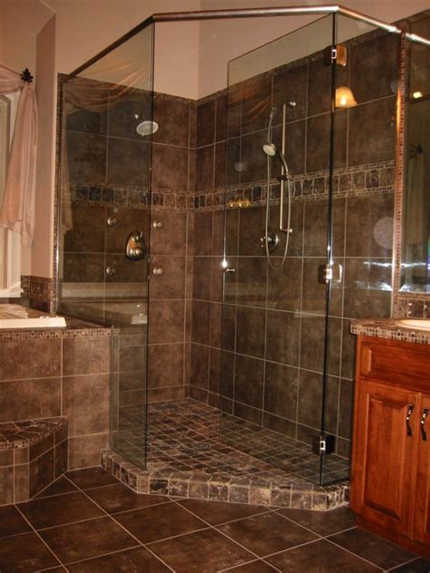 Bathroom Tile Shower Design by 37 Great Ideas And Pictures Of Modern Small Bathroom Tiles
