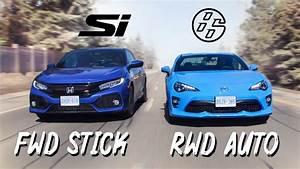 2019 Honda Civic Si Vs 2019 Toyota 86 Review