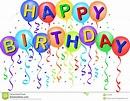 Happy Birthday Balloons/eps Stock Vector - Illustration of ...