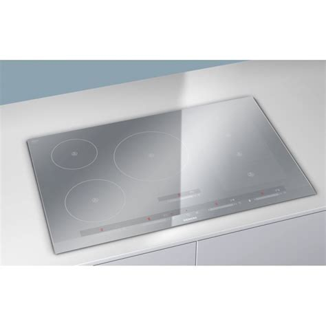 SIEMENS INDUCTION HOB EH879SP17E FLEXINDUCTION METAL LOOK