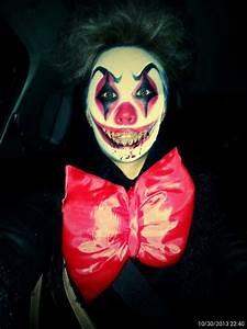 Killer clown makeup by Refin2ej | Halloween | Pinterest