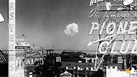 las vegas sold atomic bomb tests  tourism