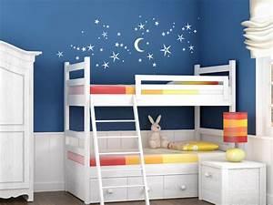 Sternenhimmel Fürs Schlafzimmer : wandtattoo nachthimmel mit sternen von ~ Michelbontemps.com Haus und Dekorationen
