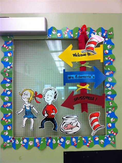 dr seuss class door for the classroom classroom decor themes classroom decor classroom themes