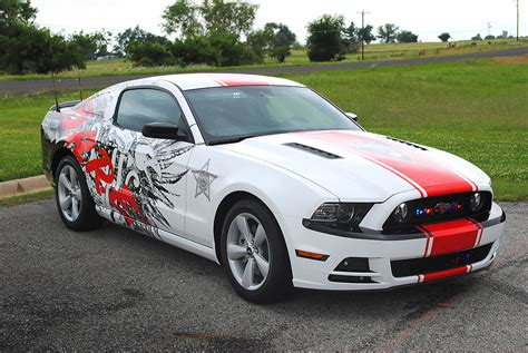 Choctaw D.A.R.E Mustang Wrap | Car Wrap City
