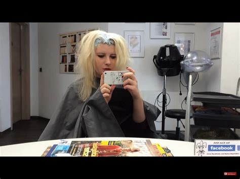 Pin By David Connelly On Women Having Their Roots Bleached