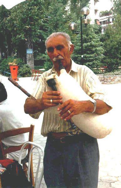 Macedonian gaida   Macedonia, Bagpipes, Skopje