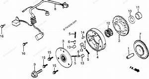Honda Motorcycle 1984 Oem Parts Diagram For Pulse