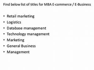 e business dissertation topics