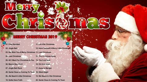merry christmas 2019 top 100 merry christmas songs 2019 best pop christmas songs ever youtube