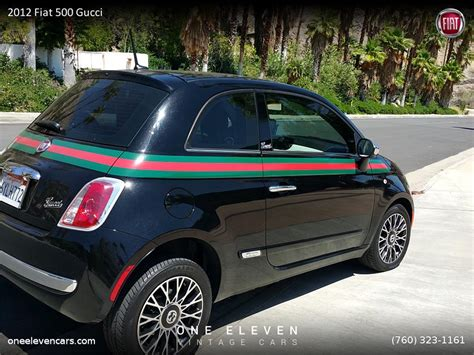 The first time this car was announced in 2006, but officially it was launched only in 2007. 2012 Fiat 500 Gucci for Sale | ClassicCars.com | CC-874031