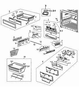 Freezer Diagram  U0026 Parts List For Model Rf26xaebp  Samsung