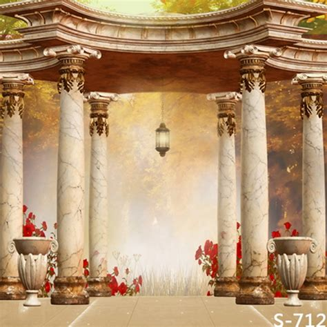 attractive wedding photography background classical palace