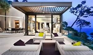 Terrasse Gestalten Modern : 31 ideen f r terrasse modern gestalten und dekorieren ~ Watch28wear.com Haus und Dekorationen