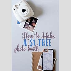 How To Make A Cheap Diy Photo Booth  Sunny Sweet Days