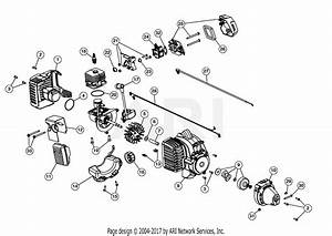 Mtd M2500 41adz01c758  41adz01c758 M2500 Parts Diagram For