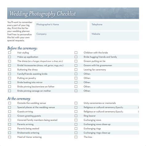 sample wedding checklists   ms word