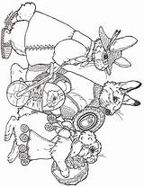 Easter Coloring Pages Brett Jan Parade Janbrett Eggs Colouring Printables Sheets Animal Rabbit Adult Printable Egg Drawings Bunny Subscription Downloads sketch template