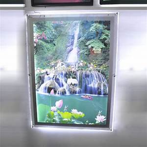 Bild Mit Led Hintergrundbeleuchtung : led backlit picture light box a1 size wall mounted acrylic led photo frames in advertising ~ Bigdaddyawards.com Haus und Dekorationen