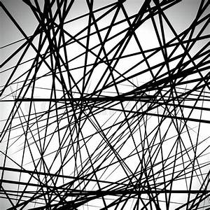 Random lines abstract background. Modern, minimal ...
