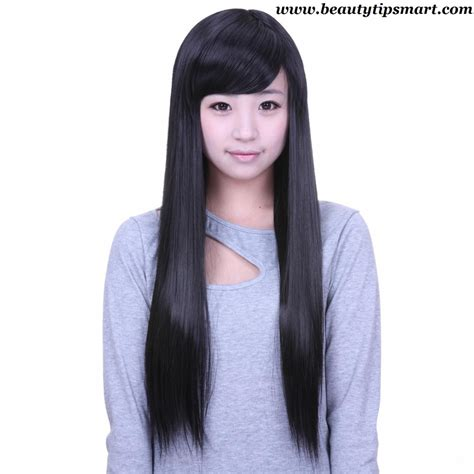 Hairstyles Straight Long Hair Prom Hairstyles For Straight