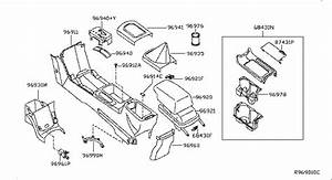 2011 Nissan Altima Parts Diagram Front Pockets  Nissan