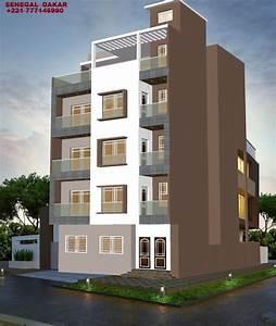 Projet D U0026 39 Un Immeuble R 3 Avec T U00e9rrasse  Avec Images