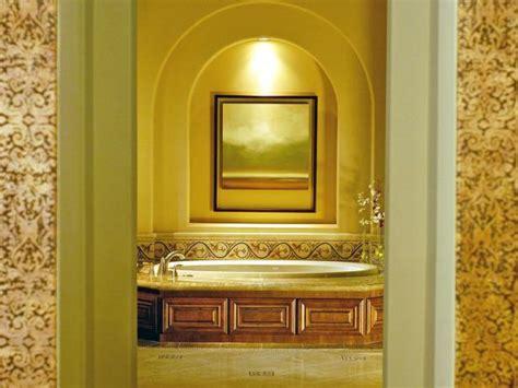bathtub  wood surround  alcove hgtv