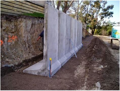 building a concrete retaining wall surveying property retaining walls part 2 retaining wall construction types
