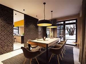 decoration maison interieur design With meuble de salle a manger avec objet deco design statue